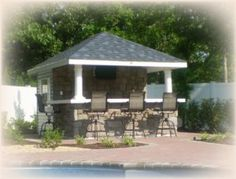 Pool House Cabana Design friends over for a pool party a