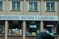 "Store in Gdansk, Poland. Princess ""Star"" ship."