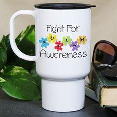 Fight for Autism Awareness Mug