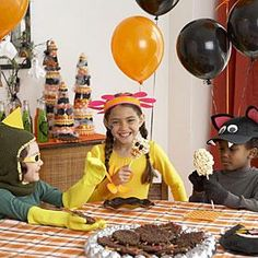 Classic Halloween games for kids. Great for a party!