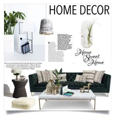 """Home Sweet Home"" by clotheshawg ❤ liked on Polyvore featuring interior, interiors, interior design, home, home decor, interior decorating, BergHOFF, Nearly Natural, Nordstrom and WALL"