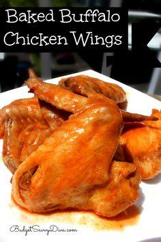 "000 Ideen zu ""Baked Buffalo Wings auf Pinterest | Buffalo Wings ..."