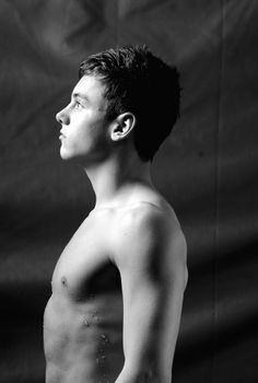 Tom Daley.. I've fallen in love. Only watching him in the Olympics.