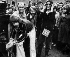 ABBA in 1976 Poland