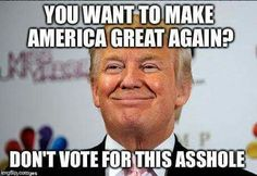 He is a black hole lacking humanity or integrity of any kind! At this point I'm not sure what's worse.... him or his supporters!