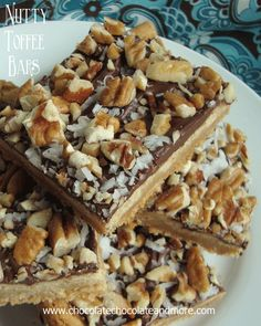 Bisquick Nutty Toffee Bars-so good you won't care that they start from a mix