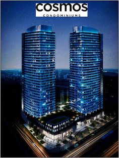 Cosmos Condos located at 591 Sheppard Avenue East in Toronto. They are currently in pre-construction stage and soon will be ready for possession. Trip today to fix your luxurious dream home at best possible lowest price via our Platinum access before they open to public.     #CosmosCondos
