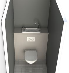 Space Saving Wall Mounted Toilets With Compact Hand Wash Basin Gallery Integrated Toilet And Basin Compact Bathroom, Small Bathroom Sinks, Bathroom Vanity Units, Tiny Bathrooms, Attic Bathroom, Upstairs Bathrooms, Bathroom Toilets, Bathroom Layout, Modern Bathroom