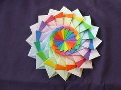 star festival 16 unit origami modular star - Google Search