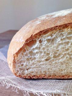 Anímate a hacer una hogaza de pan . ¡Es una receta muy fácil, perfecta para principiantes!