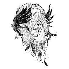 maybe raven by yadou.deviantart.com on @deviantART