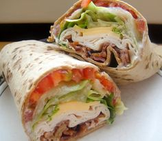 Lo Carb Turkey Club Wrap  Use a Lo Carb tortilla (I think Mission tastes best) spread 1tbsp mayo on the tortilla and top with lettuce, 2 tomato slices, 2 slices low fat or 2% cheese, 2 slices bacon and oven roasted turkey. I also put half an avocado and olives in mine. Delicious and works with Metabolism Miracle, all steps :) Enjoy!! :)