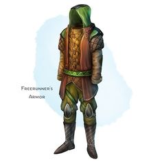 🛡 𝗡𝗲𝘄 𝗶𝘁𝗲𝗺! Freerunner's Armor Armor (any light armor), common ___ While wearing this armor, you feel light on your feet and agile. Dungeons And Dragons Homebrew, D&d Dungeons And Dragons, Fantasy Armor, Fantasy Weapons, Modern Magic, Dnd 5e Homebrew, Pathfinder Rpg, Armor Concept, Concept Art