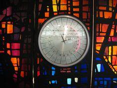 Luzern Train Station Stain Glass Clock by Darren Alff, via Flickr