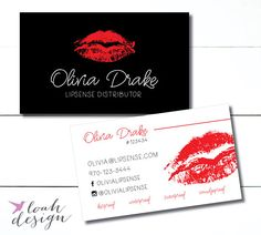Lipsense Business Cards, Senegence, Lipstick, Small Business Owner, Marketing Materials, Lip Distributor, Lipstick Branding // Business Card :: STATISTICS :: + Size 3.5 x 2 in + Includes one pdf and one jpg design for high quality printing :: ORDERING :: This listing is for a customized