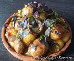 Чашушули из грибов и молодого картофеля (8)