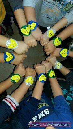Sevgi bileklikleri crafts for kids elementary schools