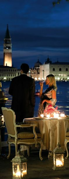 Table for two - Hotel Cipriani | Venice, Italy
