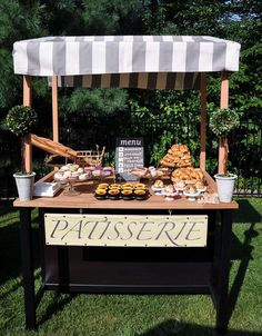 French Farewell Party Patisserie!  See more party planning ideas at CatchMyParty.com!
