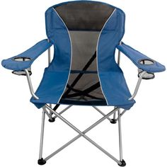 Coleman Oversized Quad Chair With Lumbar Support Purple