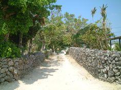 small settlement in Taketomo-jima