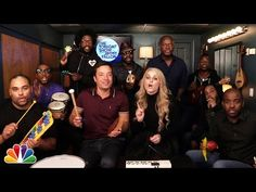 "Jimmy Fallon, Meghan Trainor & The Roots Sing ""All About That Bass"" (w/ Classroom Instruments) - YouTube"