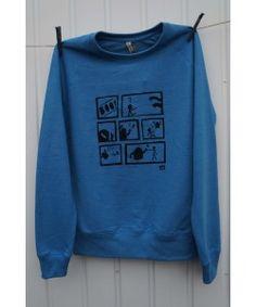 'BOO!' Recycled and Organic Unisex Sweatshirt