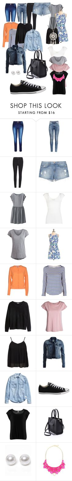 """""""Packing for my Holiday"""" by style-hue ❤ liked on Polyvore featuring City Chic, H&M, Cheap Monday, J Brand, Uniqlo, BCBGMAXAZRIA, Pieces, Lamberto Losani, A.L.C. and Acne Studios"""