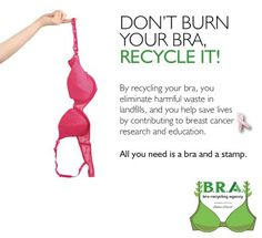 my waste: Week 11 (bra recycling) ReFab Diaries: Trimming my waste: Week (disambiguation) A bra (common form of brassiere) is a woman's undergarment designed to support the breasts. Hygge, Old Bras, Waste Reduction, Love The Earth, Green Life, Go Green, Sustainable Living, Sustainable Fashion, Zero Waste
