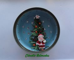 Papai Noel na latinha de atum