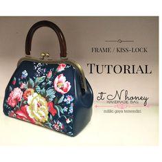 Bag Patterns To Sew, Sewing Patterns, Frame Purse, Louis Vuitton Speedy Bag, Bag Making, Hand Embroidery, Metal, Handmade, Fashion
