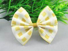 24pcs Grosgrain Ribbon Plaid Bow Flowers Wedding Decoration Appliques U Pick (Cream-colored) *** To view further for this item, visit the image link.
