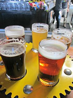 Check out my review of Crank Arm Brewery in Raleigh, North Carolina, one of Raleigh's many local breweries.