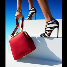 Shoes, Gianvito Rossi. Bracelet, Verdura. Bag, Dolce & Gabbana.