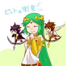 Chibi Kid Icarus UprisingPokemon