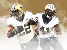 49fc1157f43bc Mark Ingram and Alvin Kamara are changing New Orleans  offense while piling  up obscene numbers · Marea Roja De Alabama Fútbol AmericanoFútbol NflCascos  ...