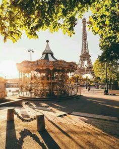 Paris, France; Eiffel Tower