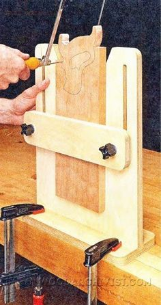 2285-Coping Saw Vise Need to know about quality tools for your woodworking plans including products like woodworking tools list, woodworking joint tool also woodworking power tools list then CLICK Visit link for more #woodworkingtools #woodworkingshop #woodworkintool #toolsforwoodworking