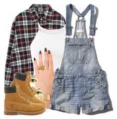 4|26|15 by miizz-starburst on Polyvore featuring Parisian, Abercrombie & Fitch, Timberland, Melody Ehsani and Han Cholo