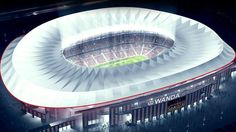 Updated CESTAn impressive people have signed up to be Atletico Madrid season ticket holders for the coming campaign, with such a Stadium Architecture, At Madrid, Sports Stadium, Season Ticket, Football Stadiums, Fifa World Cup, Barcelona, Around The Worlds, Building