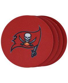 Memory Company Tampa Bay Buccaneers 4-Pack Coaster Set