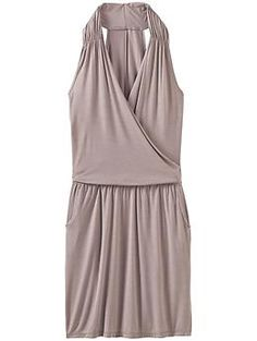 Crosstown Dress - The super lightweight dress with a drapey wrap front and chic, oversized armholes.