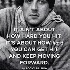 Rocky always has some words of wisdom.
