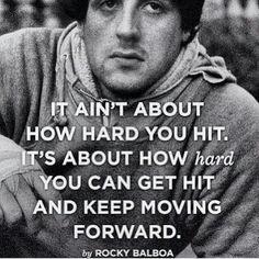 Rocky always has some words of wisdom.