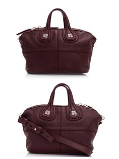 Givenchy micro nightingale in oxblood red ❤️