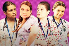 47 Pairs of Scrubs Worn by Nurse Jackie's Zoey -- Vulture