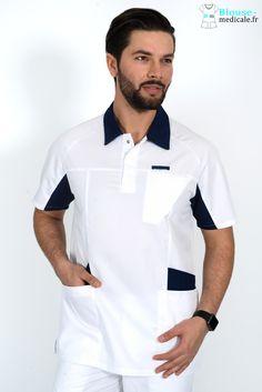 Dental Uniforms, Healthcare Uniforms, Scrubs Uniform, Men In Uniform, Fashion Sewing, Mens Fashion, Doctor Coat, Hotel Uniform, Lafont