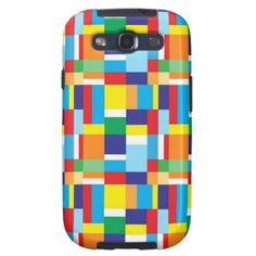 Bright Color pattern Samsung Galaxy S3 vibe case Samsung Galaxy S3 Covers