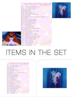 """Sailor moon Day 17"" by dark-jewel ❤ liked on Polyvore featuring art"