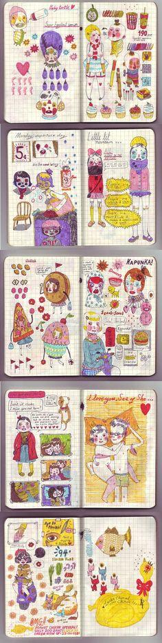 Sketchbook Mel Stringer